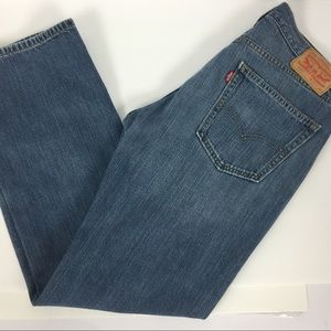Levi's 559 Broken In Denim Jeans Size 34X32 EUC